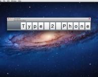 Scrivi da Mac su iPhone ed iPad con Type2Phone