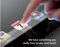 Retina Display e assenza del tasto Home: scopriamo come sarà l'iPad 3 analizzando l'invito di Apple