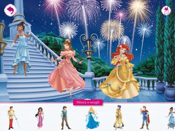 Principesse In Festa Unapplicazione Da Sogno Ipad Italia