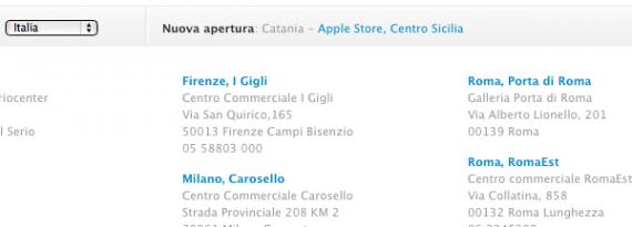 Apple ufficializza l 39 apertura del secondo apple store di - Apertura porta di roma ...