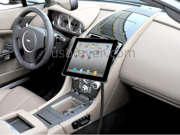 Usbfever presenta un nuovo supporto da auto per ipad - Porta ipod da braccio ...