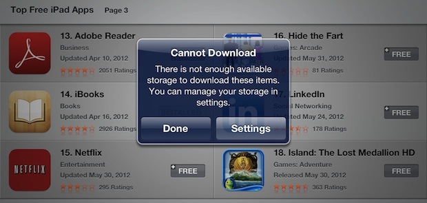 cannot download apps iphone liberare spazio su noob s corner italia 13732
