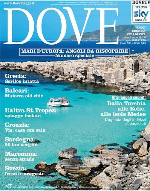 Dove il numero speciale di agosto dedicato ai mari d for Rcs riviste