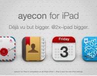 Ayecon, uno dei temi più belli per dispositivi jailbroken, presto in arrivo anche per iPad – Anteprima Cydia