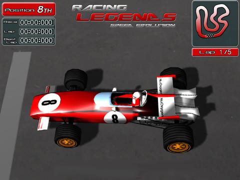 Living Legends Auto Racing on Racing Legends  Un Gioco Di Corse Con Auto Di Formula 1 Del Passato