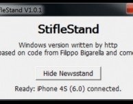 StifleStand per Windows: l'app per nascondere l'icona Edicola su iPad senza jailbreak