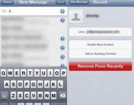 """Come eliminare i """"Contatti recenti"""" dall'applicazione Mail dell'iPad – Noob's Corner"""