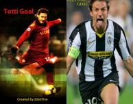 Due app per vedere tutti i goal di due grandi campioni del calcio italiano: 200 Goal – Totti Edition e Leggenda del Calcio – Del Piero Edition