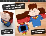 Foldify: l'app che consente di creare da iPad simpatiche figure 3D da ritagliare e incollare