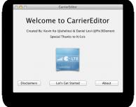 CarrierEditor, il programma per Mac per modificare il logo operatore su iPad (anche senza jailbreak)