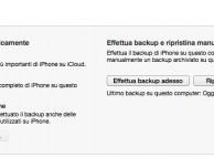 Come effettuare il backup dell'iPad su iTunes 11