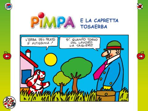 Pimpa la prima rivista interattiva su tablet per bambini for Pimpa da stampare e colorare