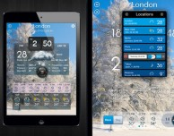 Con Weather Pro visualizzi più previsioni meteo contemporaneamente