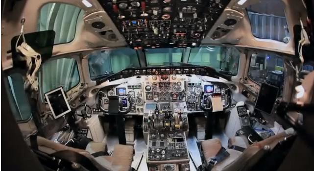 Ipad nelle cabine di pilotaggio al servizio dei piloti di for Piani di cabina 20x20