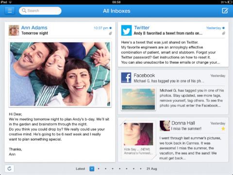 """Incredimail, un nuovo client mail """"bizzarro"""" per iPad"""