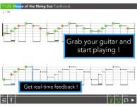 Tabrider: come GuitarHero ma con chitarre reali