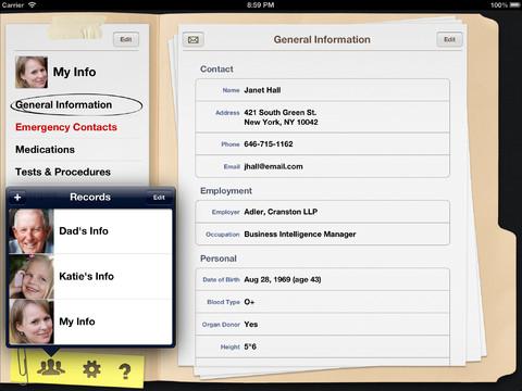 My Medical: crea il database delle tue informazioni mediche