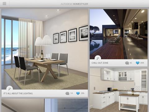La nuova app gratuita autodesk homestyler permette di for Disenar casa online con autodesk homestyler