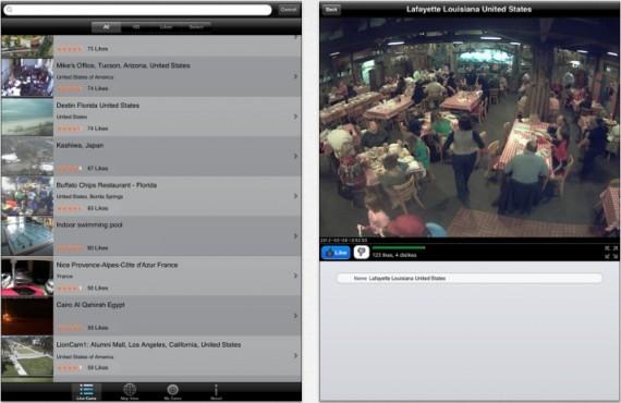 World Live Cams Pro iPad pic0