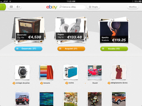 how to sell on ipad ebay app