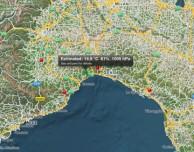 AroundMeteo: una particolare app meteo