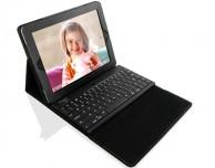Angolo del risparmio: custodia in ecopelle con tastiera bluetooth integrata per iPad