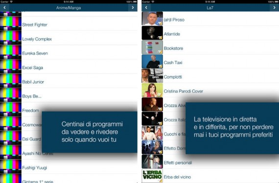 iTalian-TV: tanti contenuti televisivi in italiano da gustare