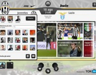 Con Juventus Live puoi commentare le partite con i tuoi amici