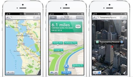 iPhone-5-white-three-up-Maps