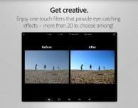 Adobe pubblica un nuovo aggiornamento per Photoshop Express