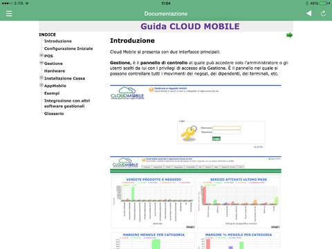 Cloud Mobile iPad