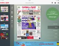 L'app Corriere dello Sport HD si aggiorna