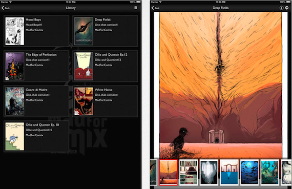 MadForComix - iPad - 2