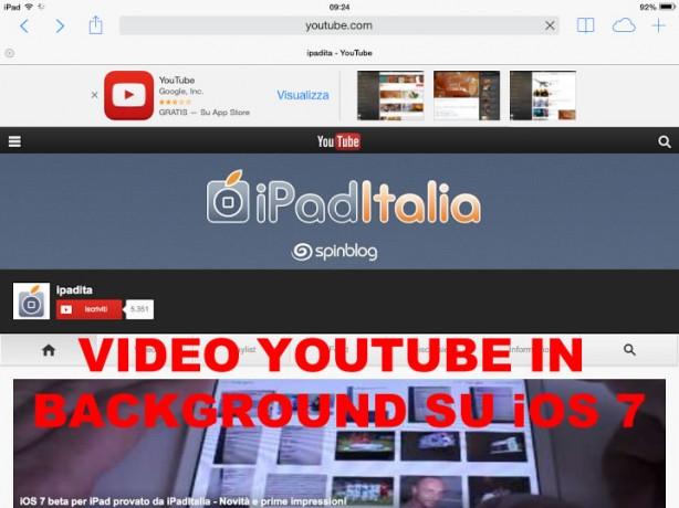 YouTube iPad