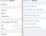 Come ripristinare impostazioni e dati direttamente da iPad