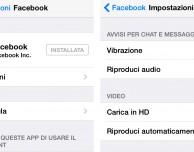 Come disattivare la riproduzione automatica dei video Facebook per risparmiare traffico dati