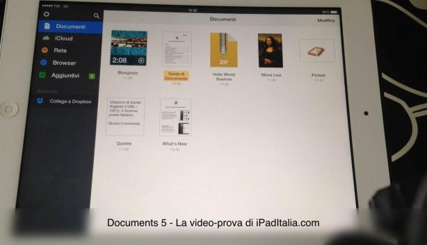 VideoProva Documents 5