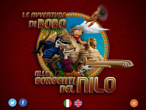 Bobo alle sorgenti del Nilo iPad pic0