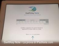 SwiftKey Note – La prova di iPadItalia