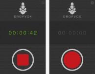 DropVox: note vocali memorizzate direttamente su Dropbox