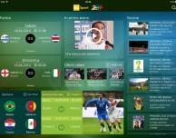 """Arriva su App Store """"Raisport Mondiali 2014"""", per seguire le partite in Brasile"""