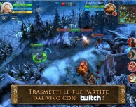 Heroes of Order & Chaos supporta il video streaming su Twitch
