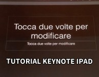 Video Tutorial Keynote iPad – Puntata 5