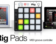 iRig Pads: un Midi groove controller universale per iPad