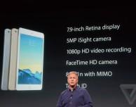Apple presenta il nuovo iPad Mini 3 con Touch ID e anche in versione Oro