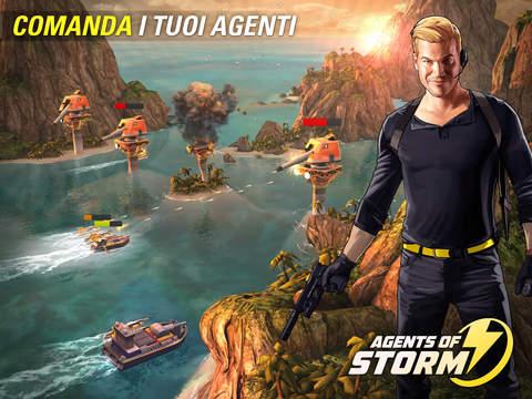 Agents of Storm iPad pic0