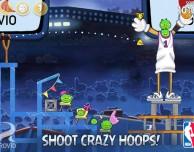 Rovio aggiorna Angry Birds Seasons a tema NBA
