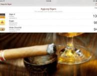 Su iPad l'app che ti insegna a degustare un sigaro