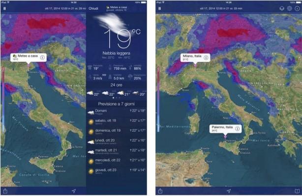 Radar Meteo Pro iPad pic0