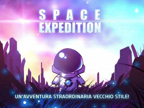Space Expedition- Classic Adventure iPad pic0